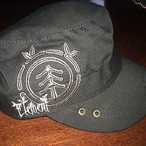 Nwot Womens Element 100% Organic Cotton Black Letter Hat Cap Osfm Photo