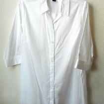 Nwot Womens Macy's Style & Co. White Long Shirt Plus 18w Photo