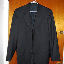 Nwot Yves Saint Laurent Paris Black Sports Blazer Jacket 46r Photo