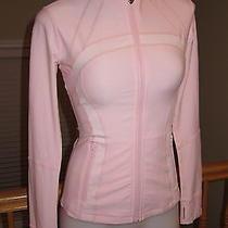 Nwotlululemon Women's Forme Define Jacket 4 Xs Blush Quartz Pink Rare Htf Photo