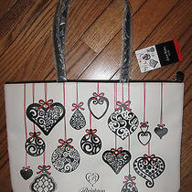 Nwt 100 Brighton Love Notes 2014 Limited Edition Holiday Tote  Photo