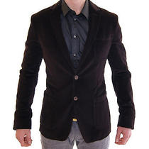 Nwt 1100 Dolce & Gabbana d&g Brown Two Button Blazer Jacket Eu46 / Us36 / M Photo