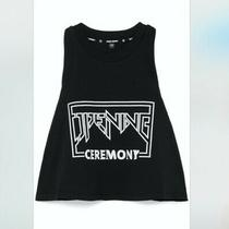 Nwt 125 Opening Ceremony Logo Torch Cropped Tank Xs Photo