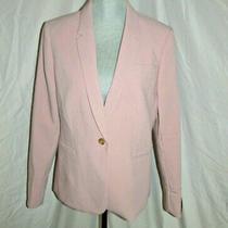 Nwt 129. Banana Republic Blush Pink Blazer Coat Jacket Size 12 New With Tags Photo