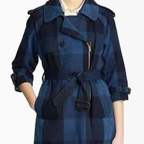 Nwt 1525 Boy by  Band of Outsiders Shrunken Trench Coat Sz 1-M Photo