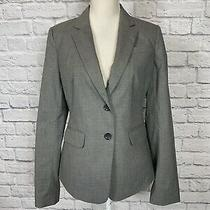 Nwt 160 Ann Taylor Suit Blazer Jacket Gray Sz 8 Photo