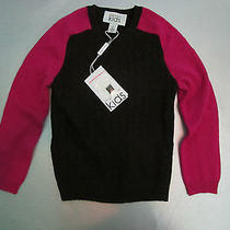 Nwt 165 Girls Autumn Cashmere Cable Knit Sweater 5 Y Photo