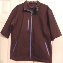 Nwt 175 Peter Millar Element 'Water' S/s Waterproof Jacket Men's Sz M Nwt Photo