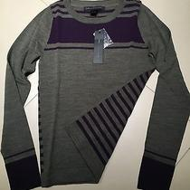 Nwt188 Marc by Marc Jacobs Striped Sweater Size S Photo