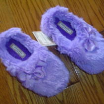 Nwt 20 Arizona Faux Fur Fancy Purple Slippers 13-1 Photo