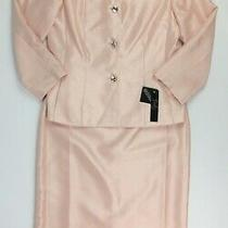 Nwt 200 Emily Womens Size 8 Jacket and Skirt Suit in Blush Photo