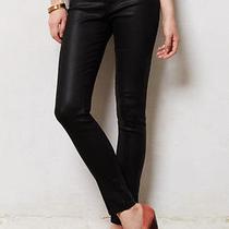 Nwt 210 J Brand 620 Lacquered Black Quartz  Mid Rise  Super Skinny Jean Sz 29 Photo