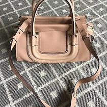 Nwt 2100 Chloe Blush Nude Everston Medium Satchel Handbag100% Leatheritaly Photo