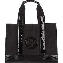 Nwt 225 Tory Burch Nylon Tory Tote Black Photo