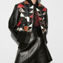 Nwt 2300 Coach Patchwork Shearling Leather Bomber Ma-1 Jacket Size 4 Photo