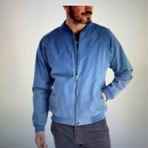 Nwt245 Barbour Mens Blue Windbreaker Torksey Bomber Jacket Mca0602bl51 Size Xxl Photo