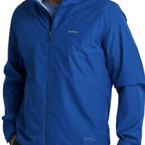 Nwt 250.00 Barbour Men's Cooper Waterproof Windbreaker Jacket Blue  Size Large Photo