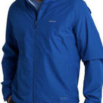 Nwt 250.00 Barbour Men's Cooper Waterproof Windbreaker Jacket True Blue Size Xl Photo
