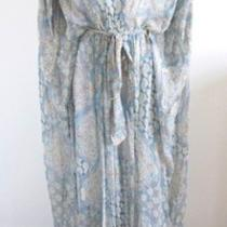 Nwt 285 the Addison Story Paisley Caftan Dress- Sz M- Gorgeous Photo