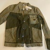 Nwt 295 Diesel Light Mudd Mens Jacket in Olive Green in Size L Photo