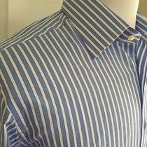 Nwt  295 Yves Saint Laurent Mens Dress Shirt 42/16.5 Made in Italy Photo