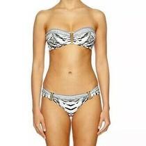 Nwt 299 Camilla Sz Xs Wild Belle Bandeau Swimsuit Bikini Crystals Extra Small Photo