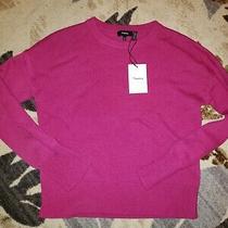 Nwt 300 Theory Brand Crewneck Cashmere Sweater Sz Large Saks Photo