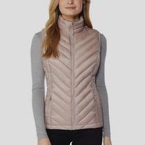 Nwt 32 Degrees Heat Women's Packable Nylon Vest Size Large Light Blush Pink New Photo