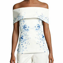Nwt 325.00 Camilla and Marc Mayflower Off Shoulder Top sz.4 Photo