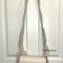 Nwt 328 Coach 76698 Small Jes Messenger Leather Crossbody Bag Purse Chalk White Photo