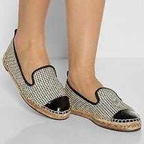 Nwt 350 Fendi Junia Espadrille Flats Shoes Size 37.5/us 7 Photo
