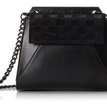 Nwt 350 l.a.m.b. Handbag Purse Cross Body Black Genuine Leather With Haircalf Photo