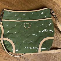 Nwt 358 Coach Peyton Patent Leather Hobo Crossbody Bag Satchel Tote Purse New Photo