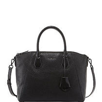 Nwt 368 Michael Kors Campbell Large Satchel Color Black Photo