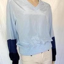 Nwt 395 Boy by Band of Outsiders Fantastic Silk Sweatshirt Sz 2 Photo