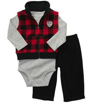 Nwt 3pc Fleece Set  Carters New Rescue Hero Boys Outfit  3m 28 Photo