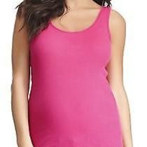 Nwt 40 Michael Stars Maternity 2x1 Cotton Ribbed Beater Tank in Camilla Photo