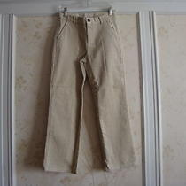Nwt 42 Janie and Jack Gift Express Boys Corduroy Pants 8 Light Kahaki Photo