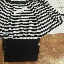 Nwt 430 Yigal Azrouel Sweater Designer Top Size Large Photo