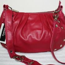 Nwt 485 Hammitt Los Angeles Avalon Magenta Leather Shoulder Bag Hobo Crossbody Photo