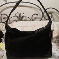 Nwt 49 the Sak  Faux Suede Tote Handbag Shoulder Bag