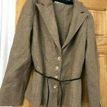 Nwt 498 Noviello Bloom Wool Ladies Skirt Suit Size 14 Size Xl Vintage Lined Photo