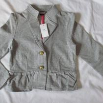 Nwt 4t Gap Jewel Box Gray Knit Blazer Coat Jacket Photo