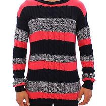 Nwt 560 Pierre Balmain Multicolor Knitted Crewneck Long Arm Sweater 48/ Us38 /m Photo