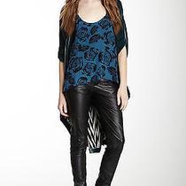 Nwt 575 Winter Kate Skinny Black Leather Pants Xs (0 Xxs) Photo