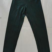 Nwt 68 Yummie Tummie Jade Faux Leather Skinny Leggings Sz S Pine Green Photo