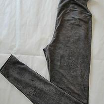 Nwt 68 Yummie Tummie Jade Faux Leather Skinny Leggings Sz Xs Mink Photo
