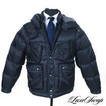 Nwt 730 Eastlogue Korea Quantum Black Pertex Elemental Puffer Parka Coat S Nr Photo