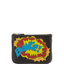 Nwt 75 Rebecca Minkoff Comic Book-Inspired 'Bang' Graphic Cory Pouch Key Ring Photo
