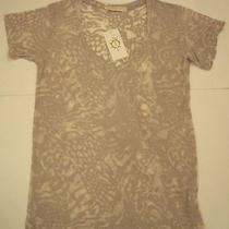 Nwt 77 Generation Love Tiger Print Ceramic Gio Top Blouse Shirt - Size M Photo